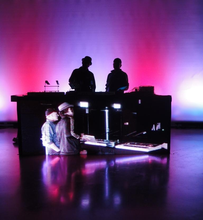 DJ Front LED 2