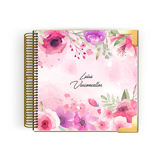 Planner Kyra -Watercolor Roses