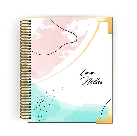 Planner Hanna - Abstract