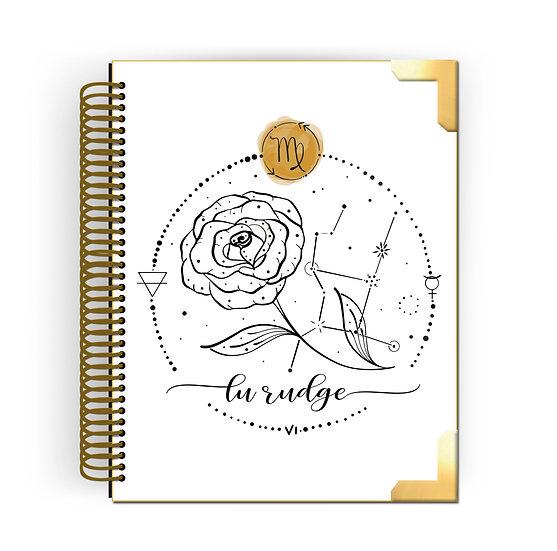 Gold Planner Virgem by Tatiana Alves