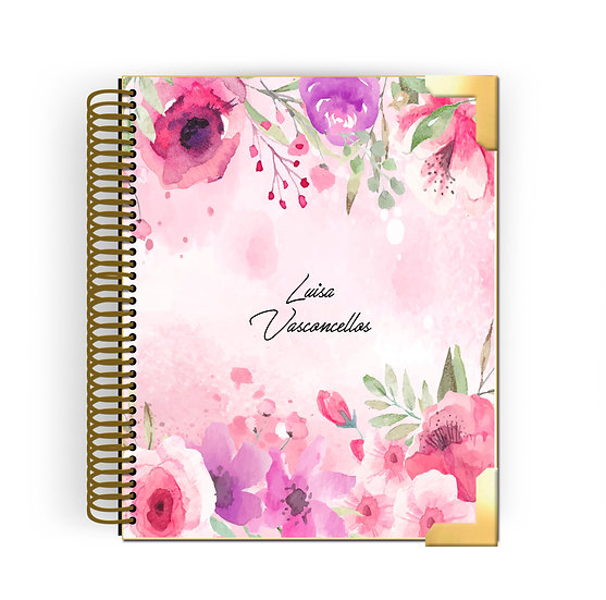 Planner Hanna -Watercolor Roses