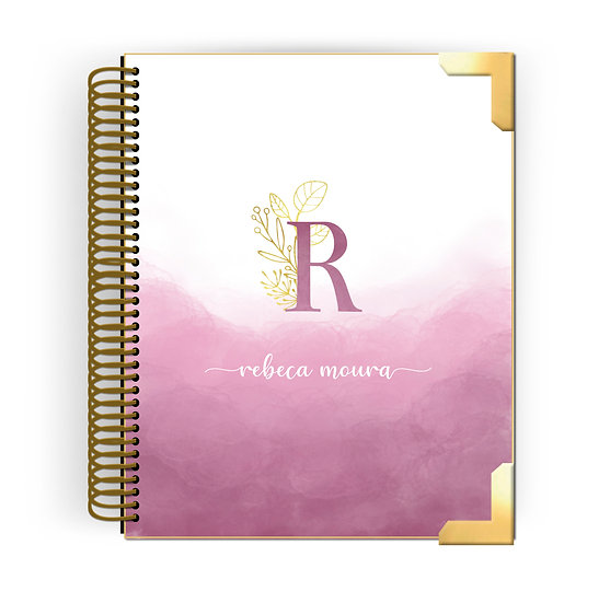 Planner Hanna - Mistery Sweet Pink