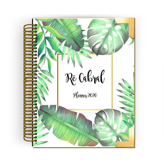 Gold Planner Tropical 2020