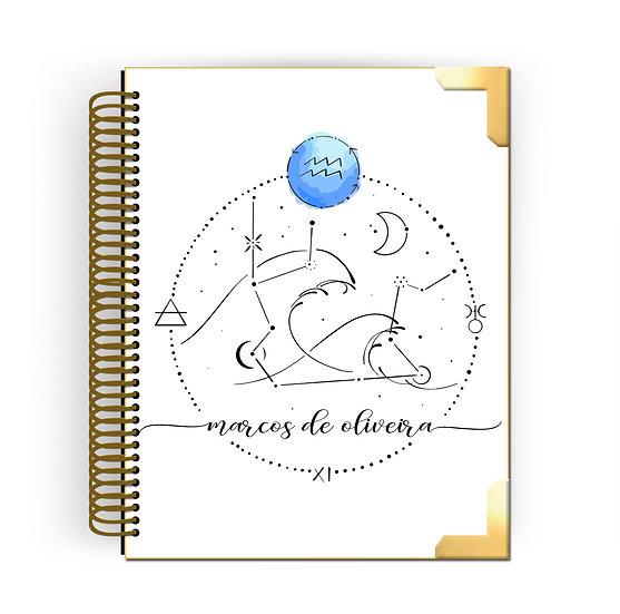 Gold Planner Aquário by Tatiana Alves