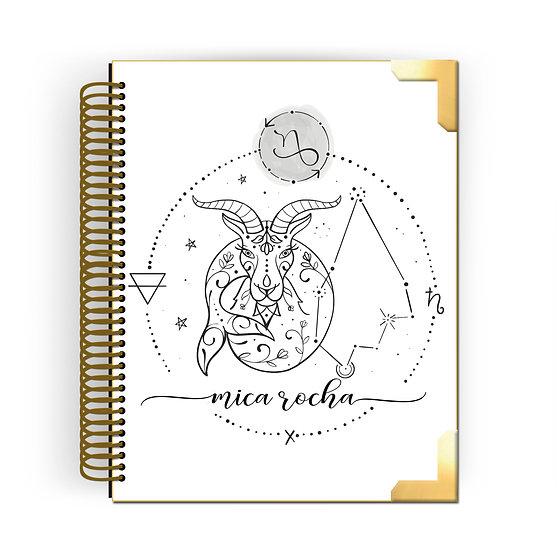 Gold Planner Capricórnio by Tatiana Alves