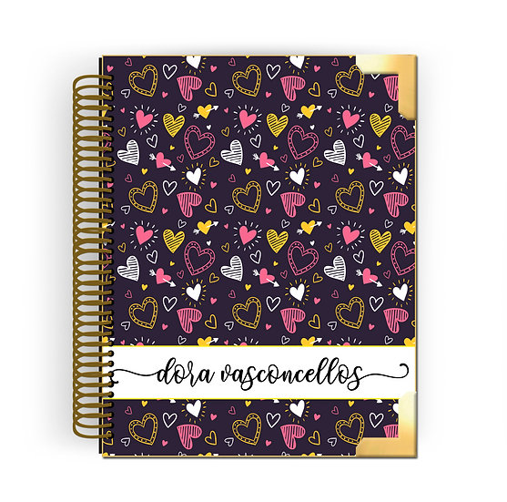 Gold Planner Happy Hearts 2020