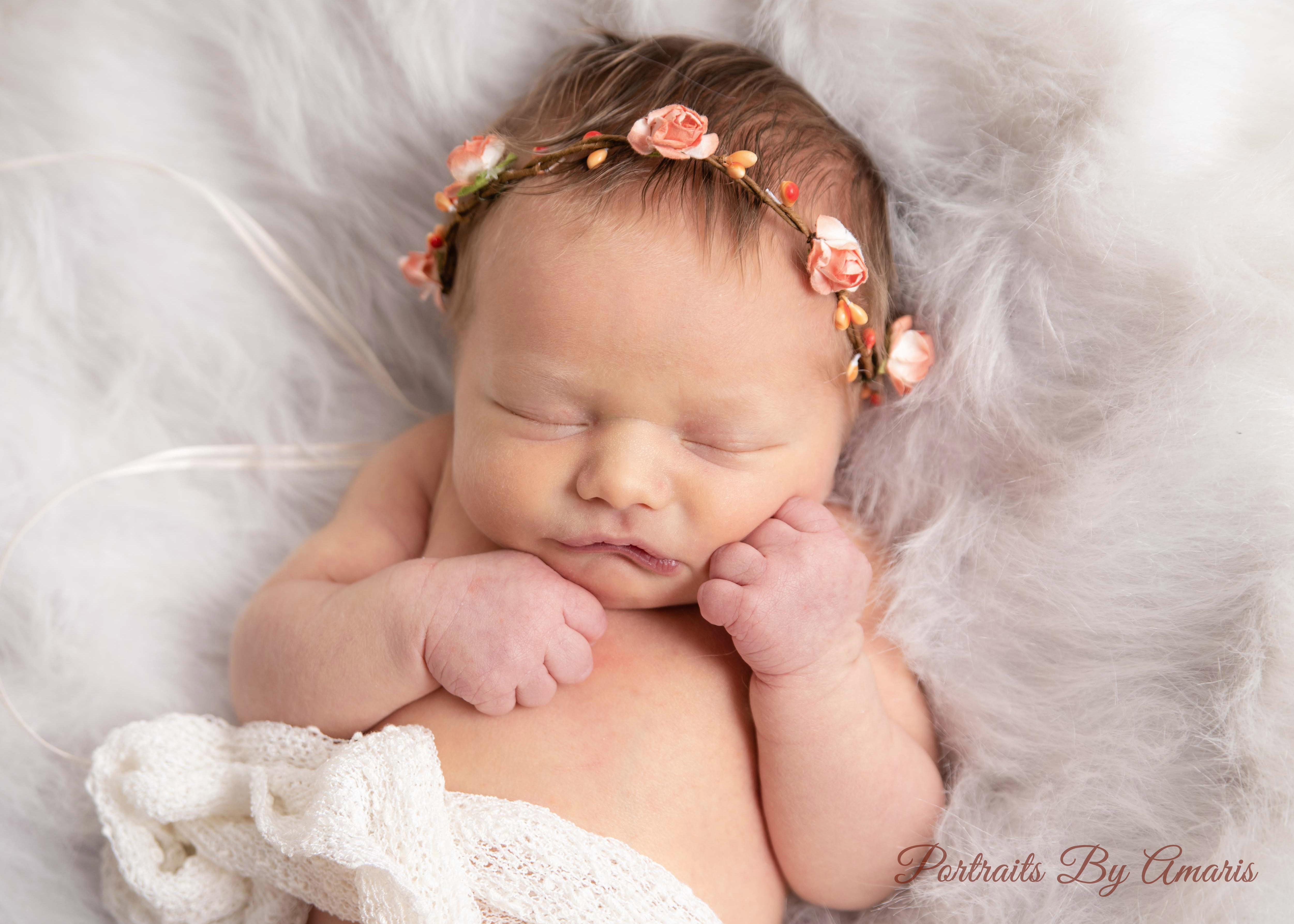 Newborn-in-flower-crown