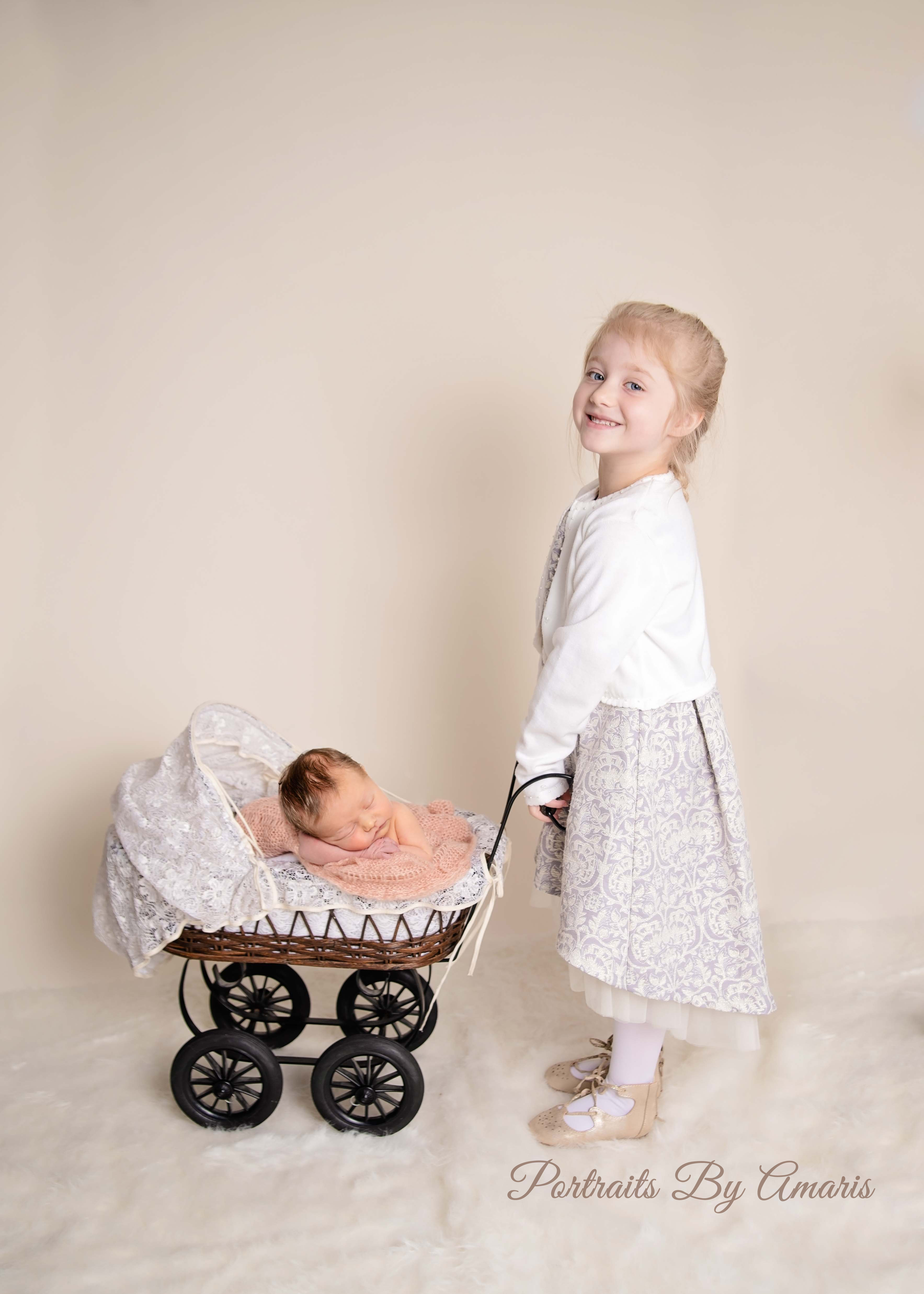 Newborn-in-baby-carriage