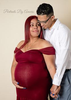 red_maternity_dress