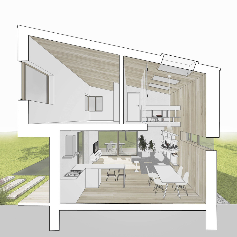 malý dům na malé parcele