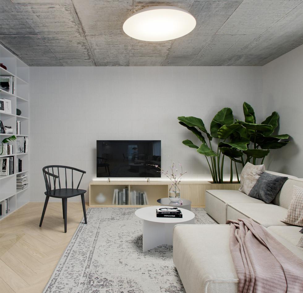 raw interiér
