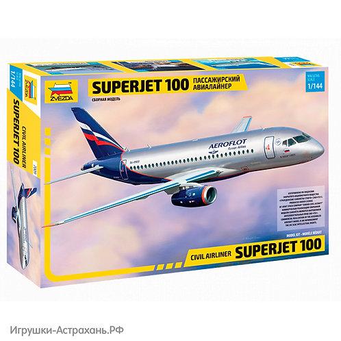 Звезда. Региональный пассажирский авиалайнер Superjet 100