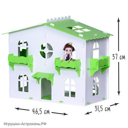 Загородный домик для кукол София, высота 37 см