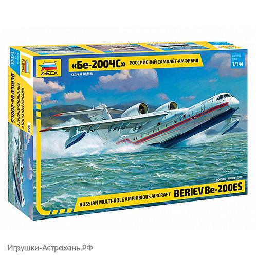 Звезда. Российский самолет-амфибия Бе-200