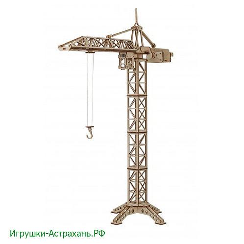 Конструктор из дерева Кран башенный