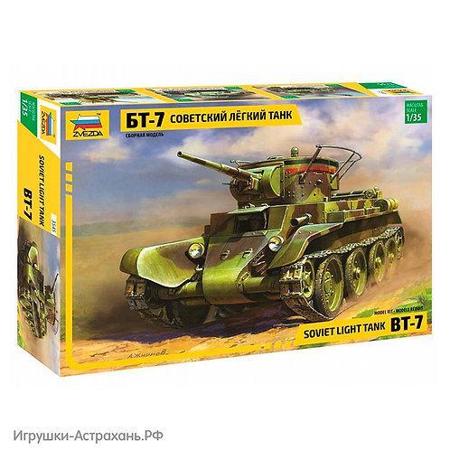 Звезда. Советский лёгкий танк БТ-7
