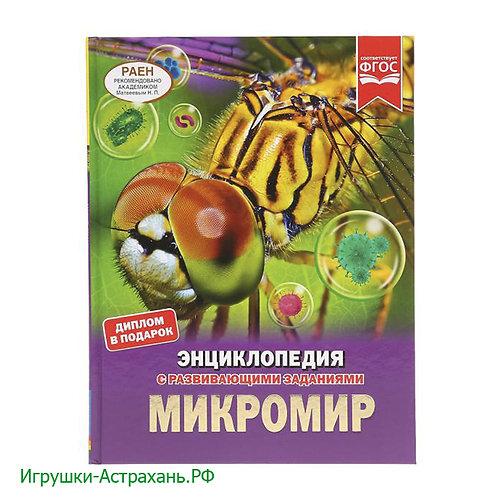 Энциклопедия МИКРОМИР с развивающими заданиями