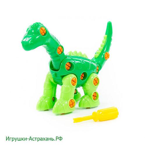 Полесье. Конструктор-динозавр Диплодок