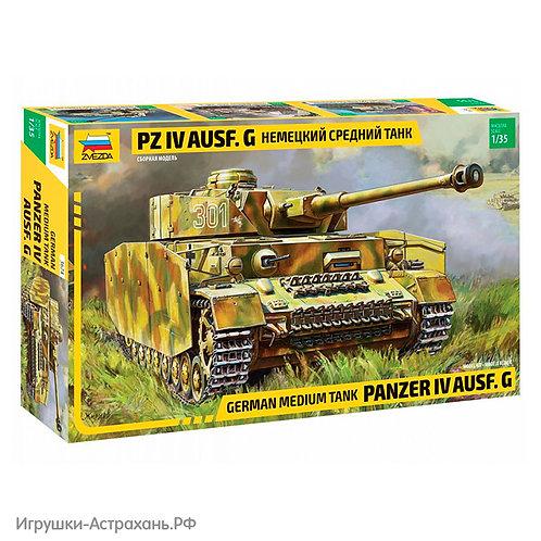 Звезда. Немецкий средний танк Pz IV Ausf. G