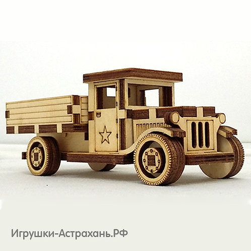 Сборная деревянная модель Полуторка