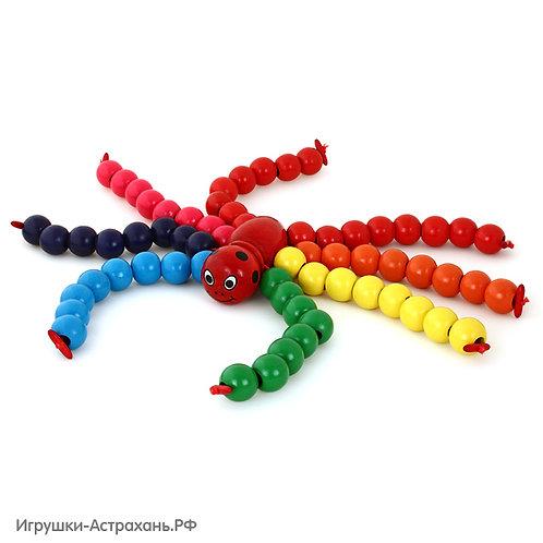 Mapacha Развивающая игрушка Паук Бусиног