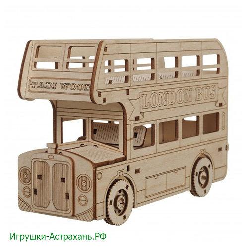 Конструктор из дерева Английский автобус