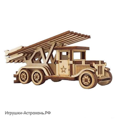 Сборная деревянная модель Катюша