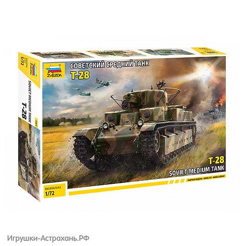 Звезда. Советский средний танк Т-28