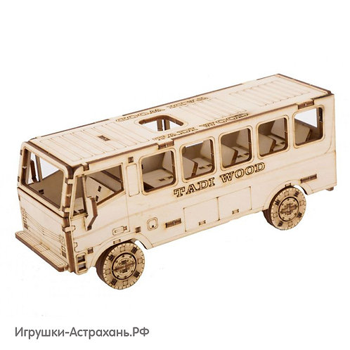 Конструктор из дерева Автобус