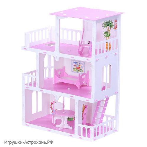 Дом для кукол Маргарита, высота 68 см