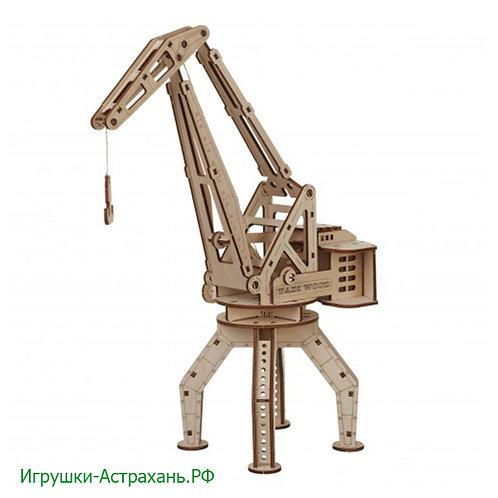 Конструктор из дерева Кран портовый