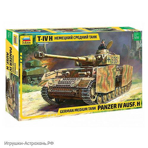 Звезда. Немецкий средний танк T-IV (H)