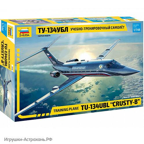 Звезда. Учебно-тренировочный самолёт ТУ-134УБЛ