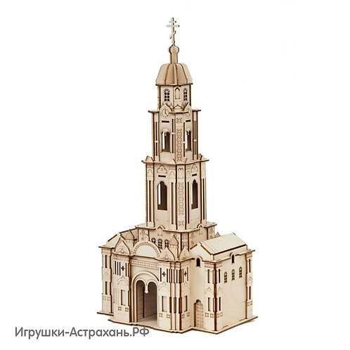 Конструктор из дерева Колокольня Астраханского Кремля