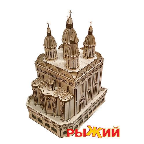 Конструктор из дерева Успенский собор Астраханского Кремля