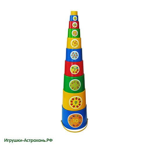 Развивающая игрушка Пирамида Матрёшка
