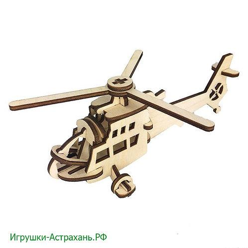 Конструктор из дерева Вертолет