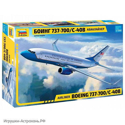 Звезда. Пассажирский авиалайнер Боинг 737-700 С-40B
