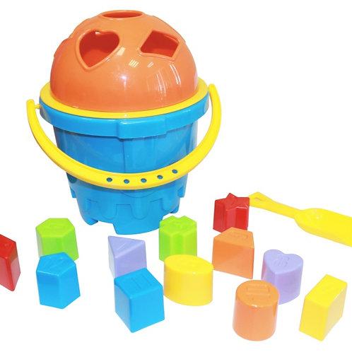 Развивающая игрушка Сортер-ведро Крепость