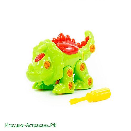 Полесье. Конструктор-динозавр Трицератопс
