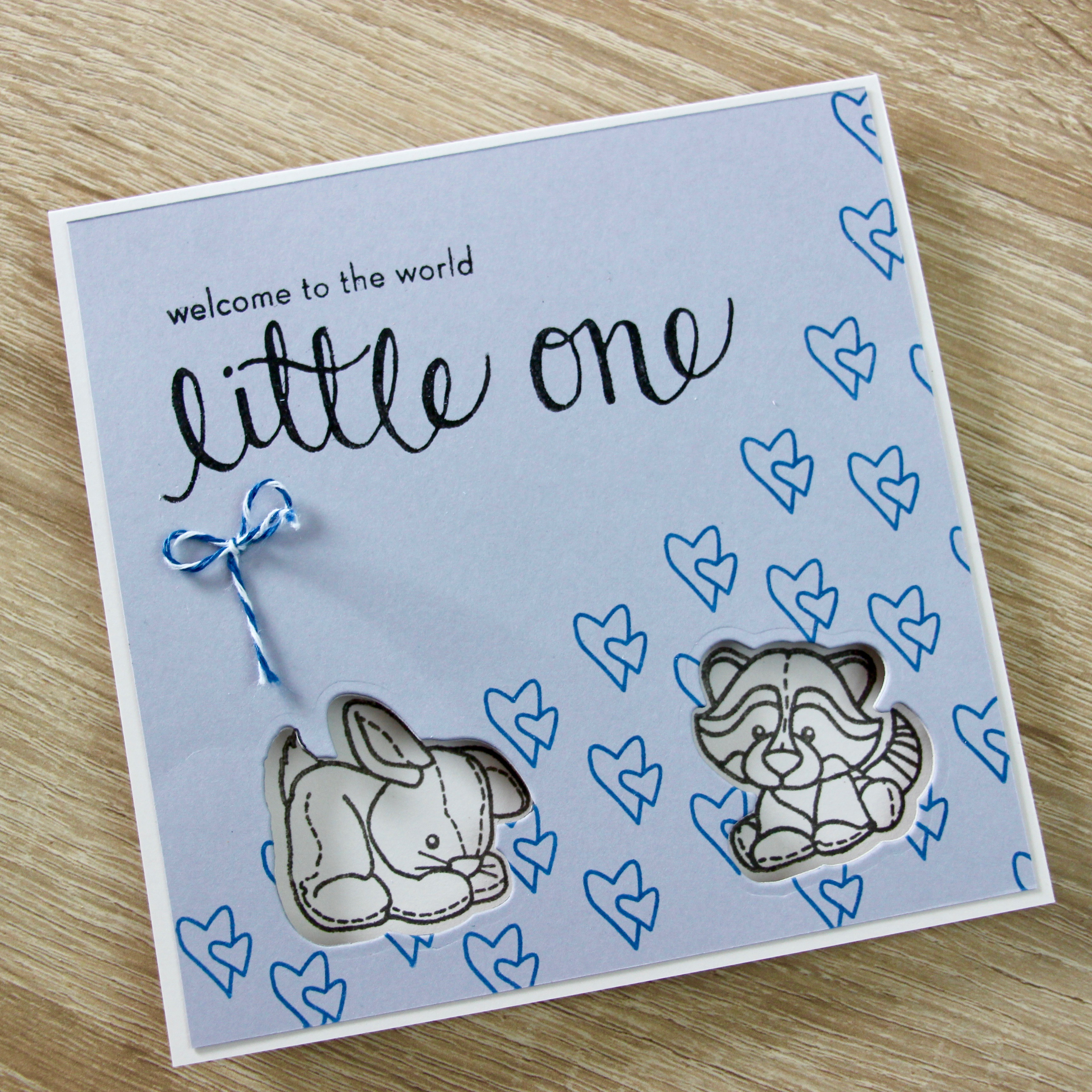 Carte Welcome Little One