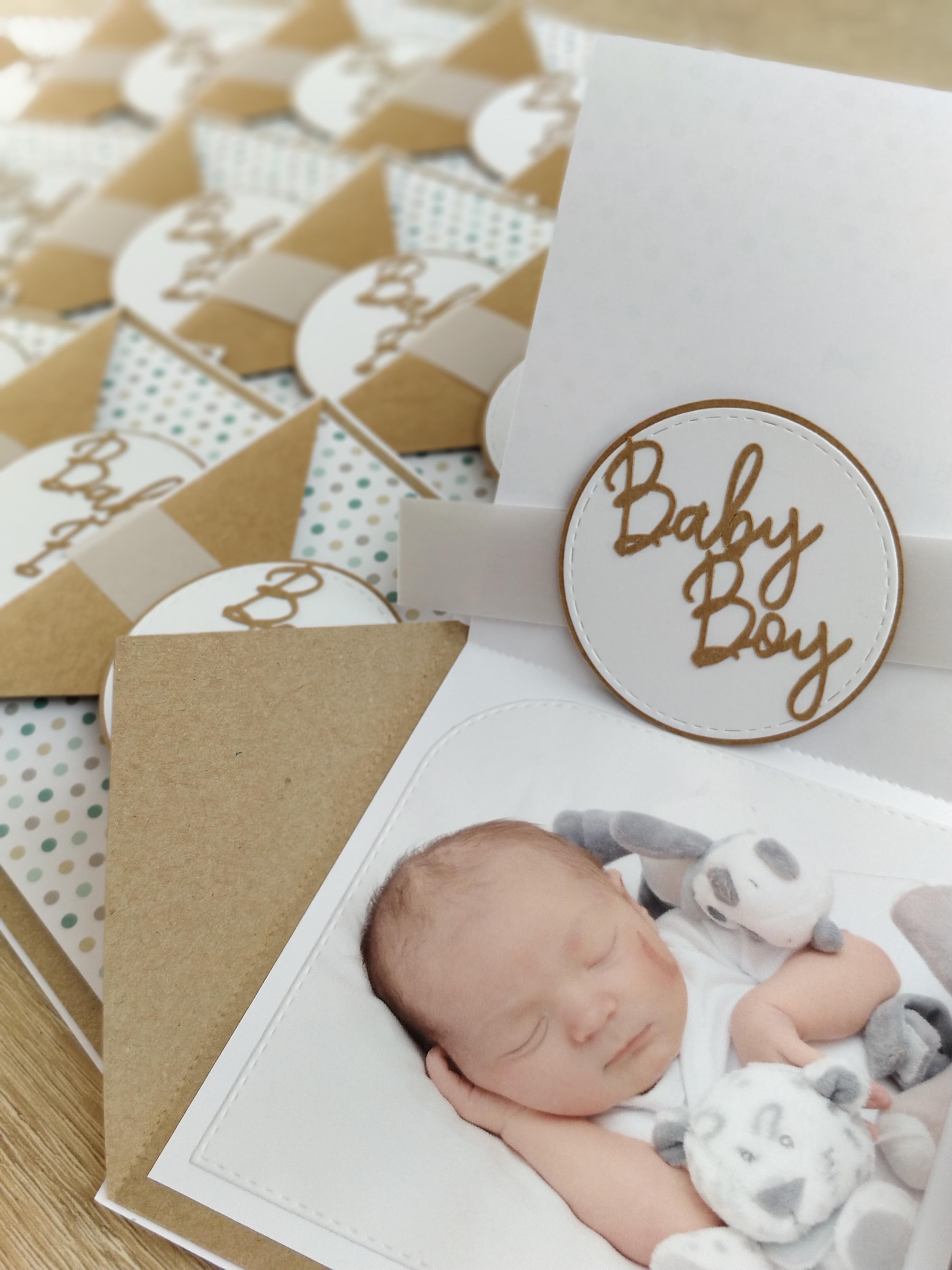 Faire-part de naissance Baby Boy