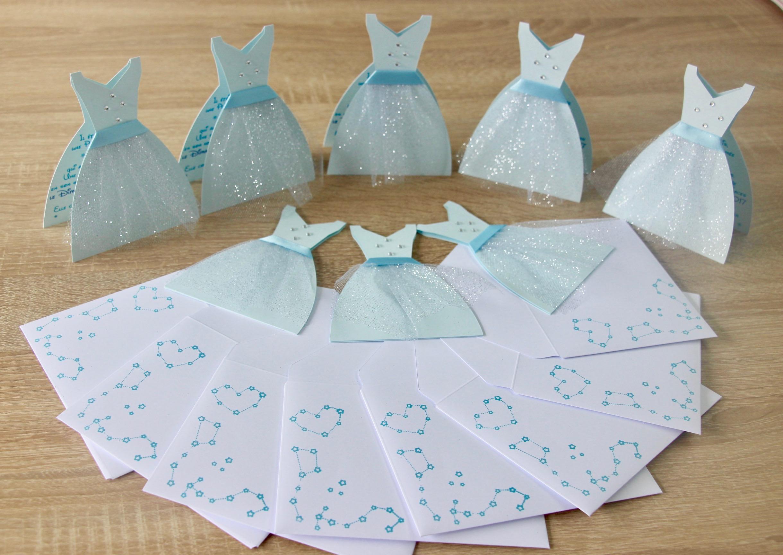 Invitations Robes de Princesses