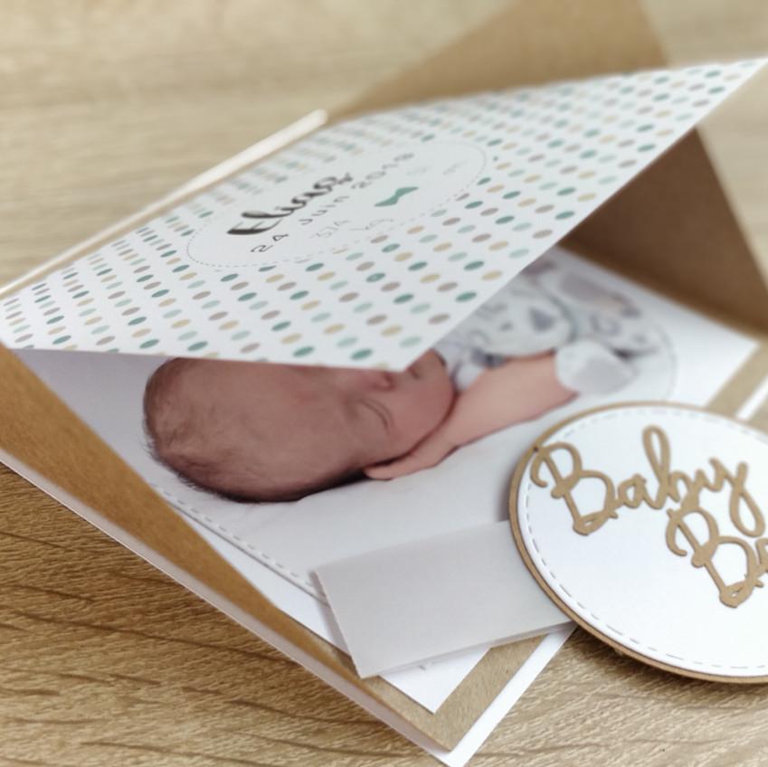 Faire-part Baby Boy