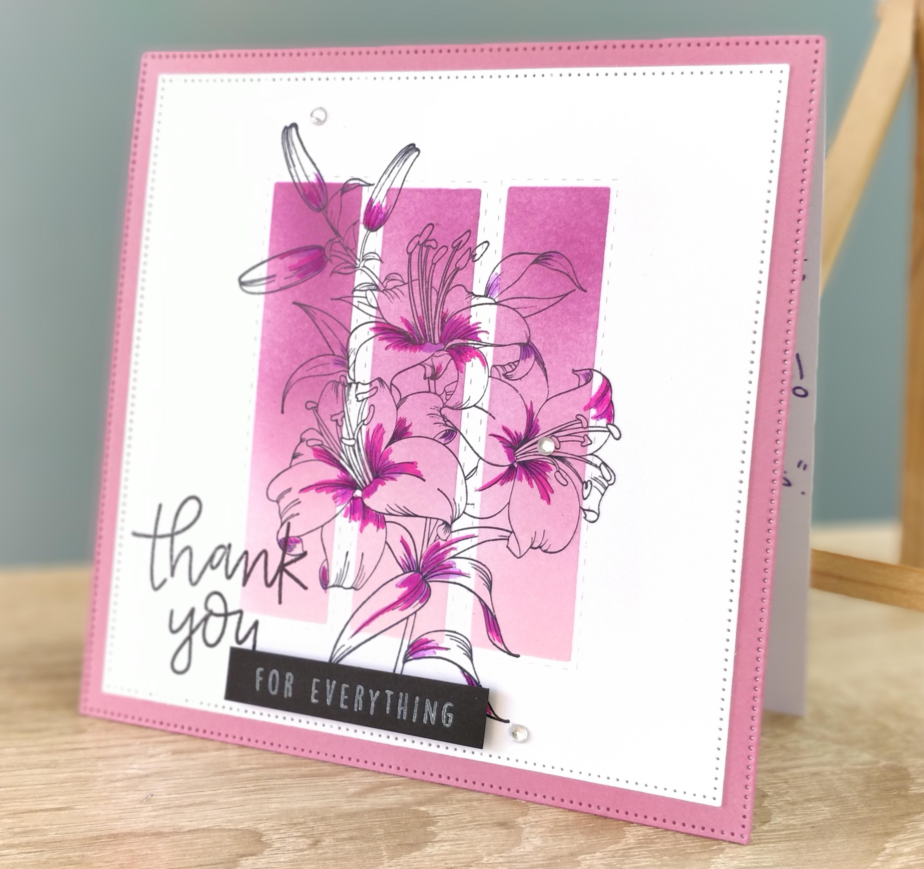 Thank You card for a teacher