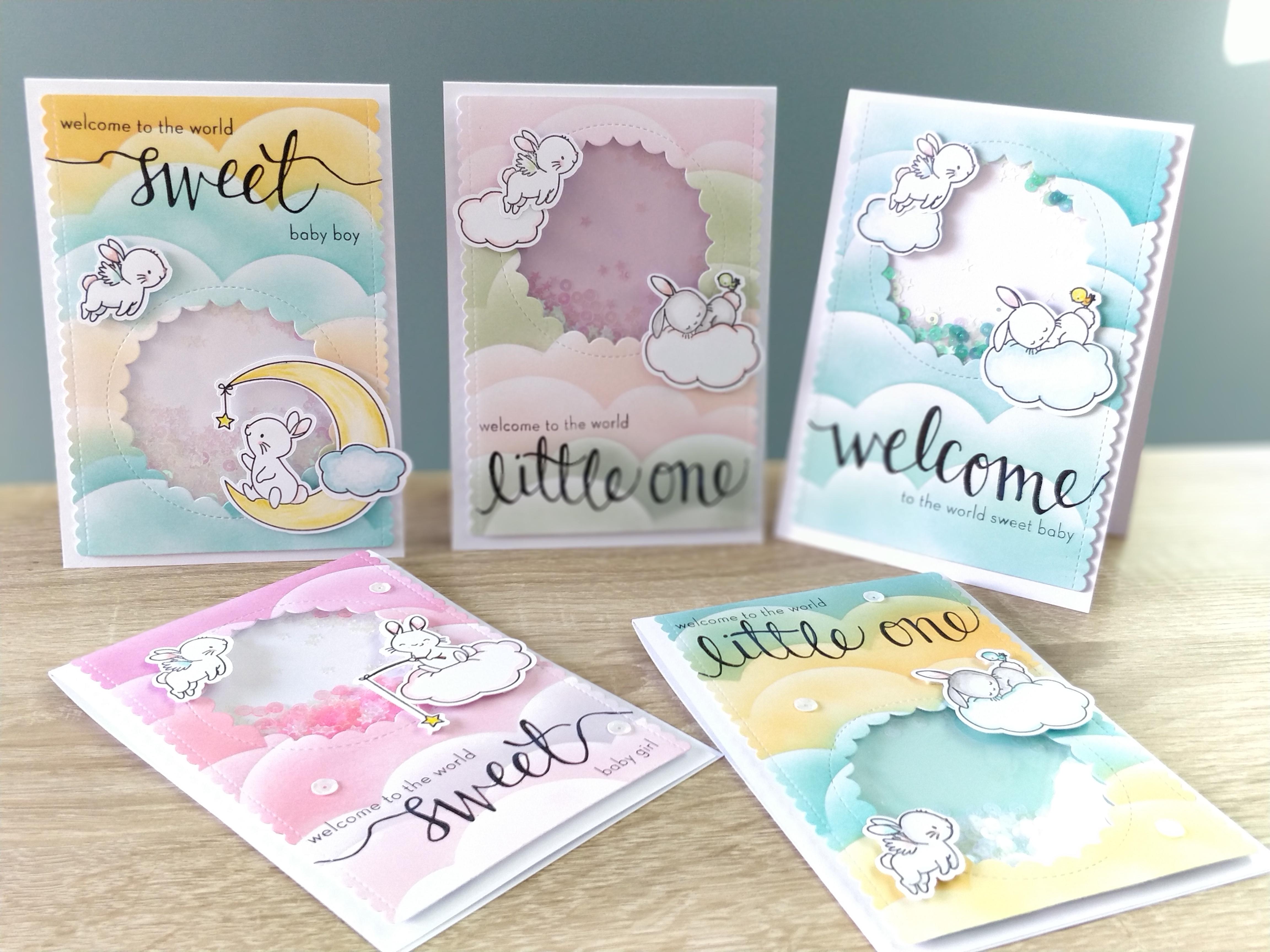 Shaker Cards dans les nuages