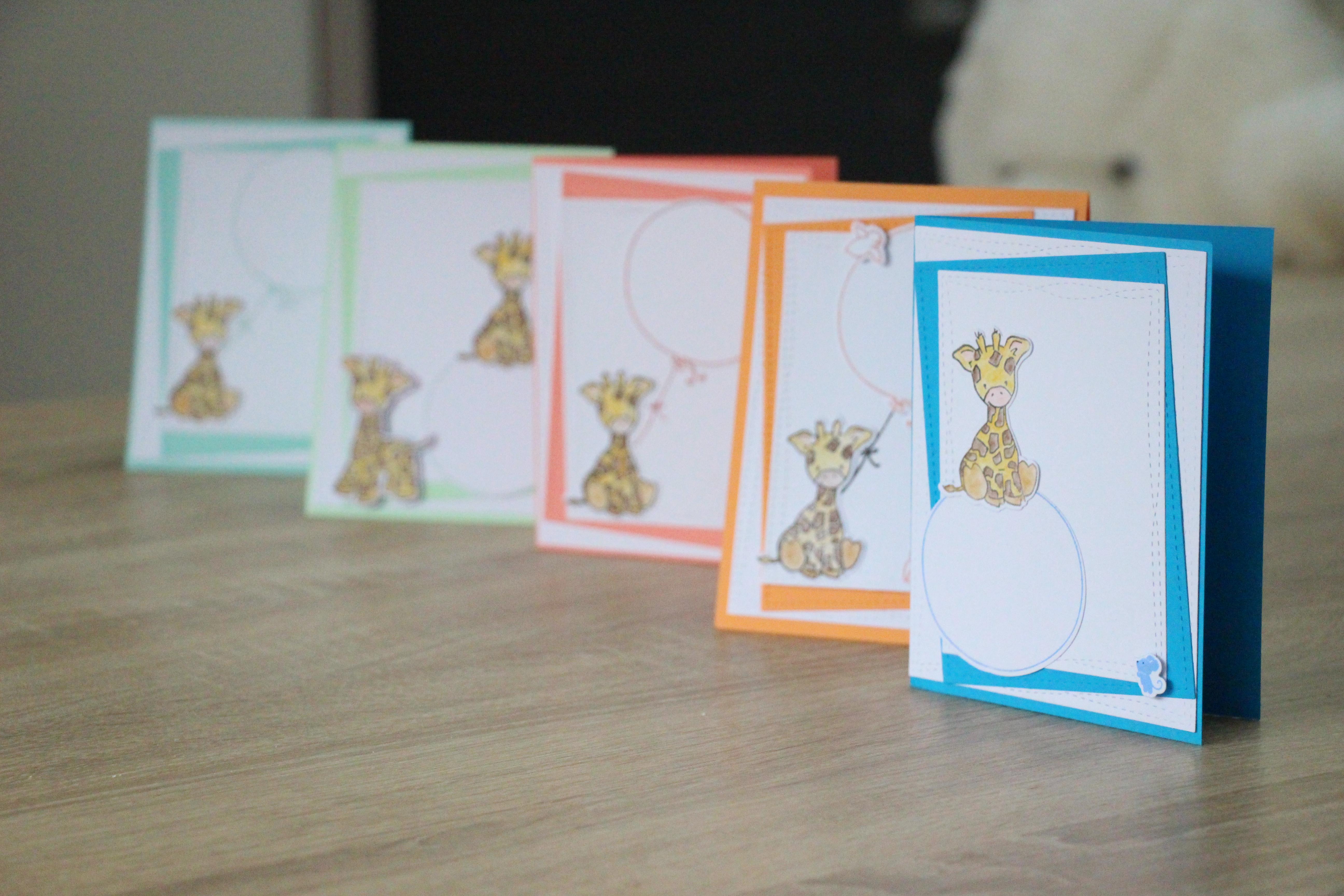 Cartes Girafons