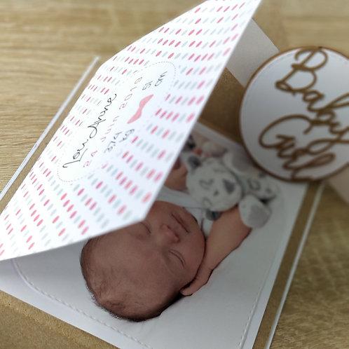 Kit de Faire-parts de naissance ou de Baptême, invitation Baby Boy / Girl
