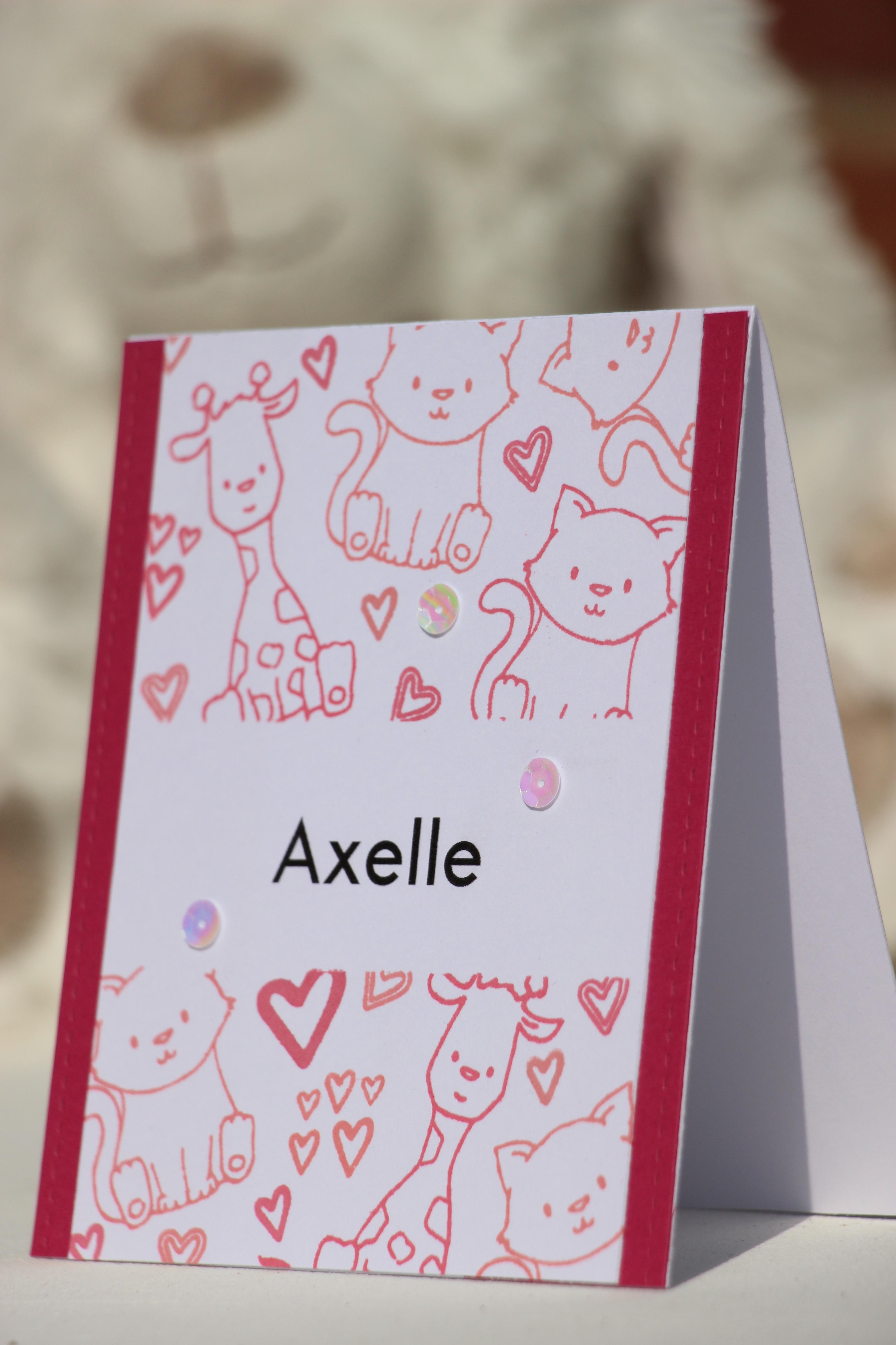 Carte Bébés Animaux