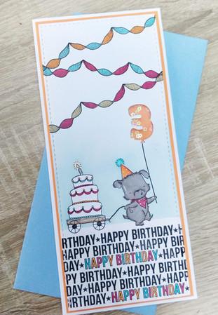 MFT - The Birthday Project Challenge - Shake shake shake !